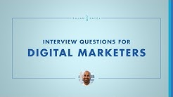 Interview Questions for Digital Marketers