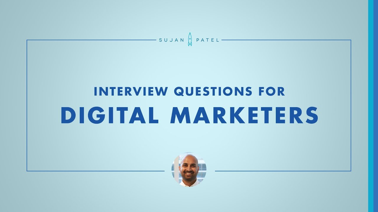 How to Interview a Digital Marketer