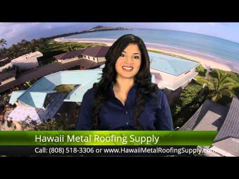 Installing Metal Roofing Ph: 808.518.3306 Kailua, Hawaii