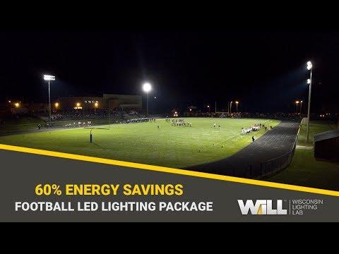 Campbellsport High School Football Field LED Lighting Project