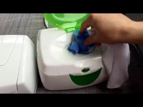 Prince Lionheart vs Munchkin Wipes warmer comparison for cloth wipes