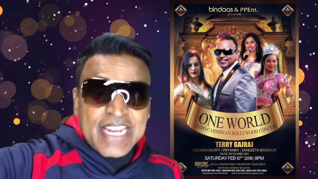 Promo - One World - Indo Carribean Bollywood Concert | MULTI-CULTURAL SHOW Arlington - Feb 10th 2018