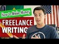 How to Make Money as a Freelance Writer - 10 Websites to Find Work