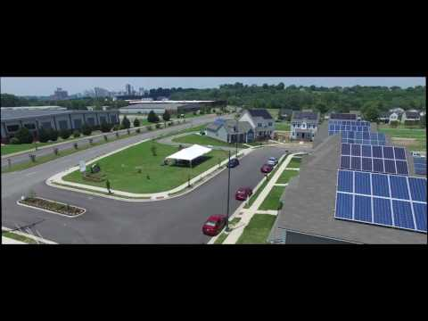 Zero Energy Homes – Solar Home Community Richmond VA