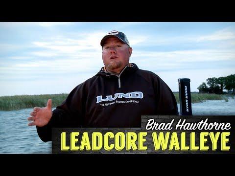 Q&A: Leadcore Trolling Walleyes With Brad Hawthorne