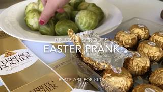 Easter prank with Brussel Sprouts by Chef Sam