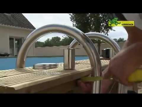 Montage piscine ubbink linea 6 50 x 3 50 m for Montage piscine
