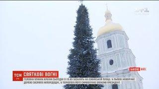 У Києві готуються до відкриття головної новорічної ялинки