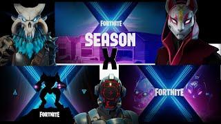The skins of FORTNITE Battle Pass 10, teaser number 3