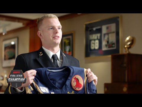 Army Vs. Navy Patches Honor Family And The Country They Fight For | College GameDay