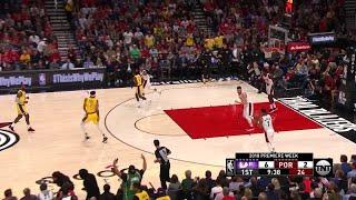 1st Quarter, One Box Video: Portland Trail Blazers vs. Los Angeles Lakers