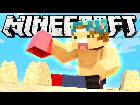 BUILDING MY OWN BEACH!   Minecraft Build Battle