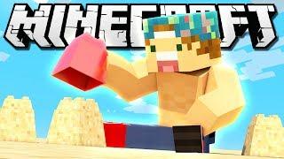 BUILDING MY OWN BEACH! | Minecraft Build Battle