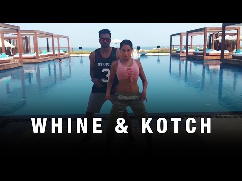 Nora Fatehi   Whine and kotch dance cover by Nora Fatehi and Rajit Dev - Dancehall