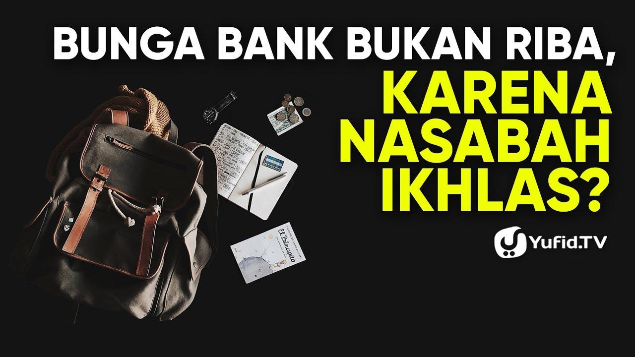 Apakah Pinjam Uang Di Bank Termasuk Riba - Tips Seputar Uang