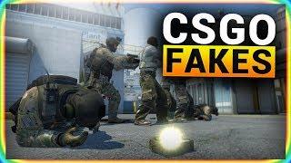 10 FAKES in CS:GO