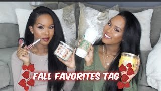 Fall Favorites Tag| Glamtwinz334