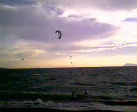 Plage de lAlmanarre // Kite Surf