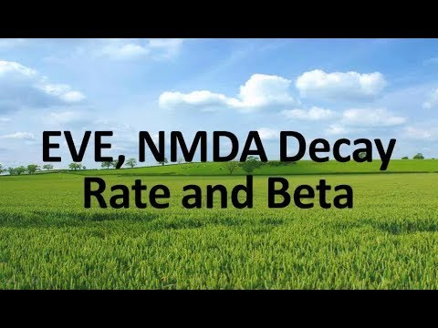 Deposit Decay Rate Analysis, Beta and EVE