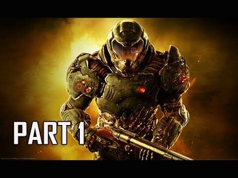 Doom Walkthrough Part 1 - Still A Better Story Than Twilight (PC Ultra 2016 Let's Play Commentary)