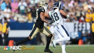 Little things helped Cooper Kupp's impressive game | NBC Sports