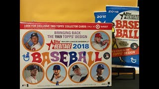 2018 Topps Heritage Baseball Box Break |   WHAT IS THIS??