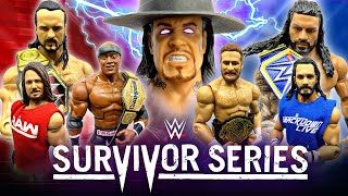 WWE SURVIVOR SERIES 2020 PREDICTIONS! WWE FIGURES!