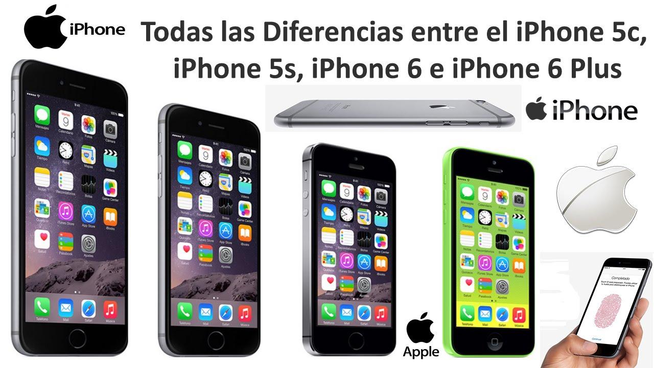 Diferencias Iphone S Y