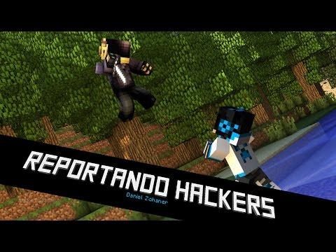 "Hacker "" Gage3197 "" Anti knockback - Killaura - Fly / Reportando Hackers #4"