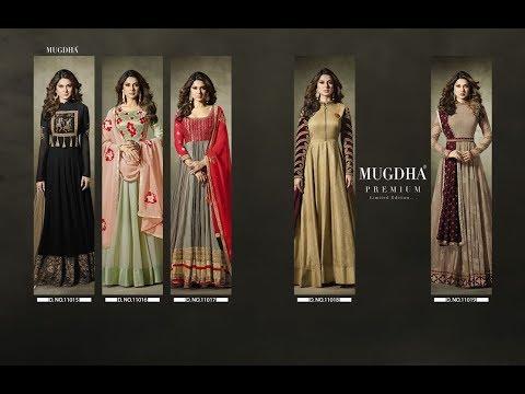 Latest Indian Anarkali Dress Collection 2017 || MUGDHA || MUGDHA JENNIFER PREMIUM