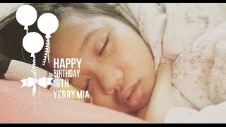 Video Happy birthday 16th Yerry Mia download MP3, 3GP, MP4, WEBM, AVI, FLV September 2018