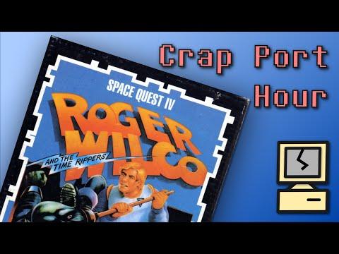 Crap Port Hour - Space Quest IV - Amiga - Mega Munchie Run
