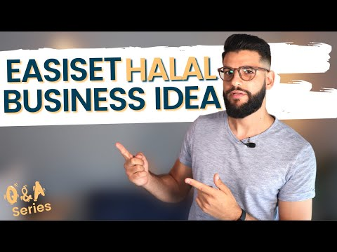 What Is The Easiest Halal Business Idea To Start?- Muslim Business Q&A Series