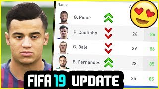 NEW FIFA 19 SQUAD UPDATE - NEW PLAYERS, NEW UPGRADES & MORE (23rd May 2019)