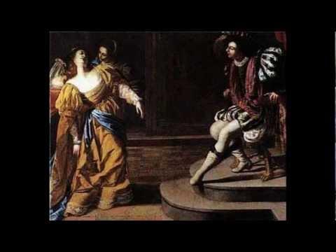 Artemisia Gentileschi  1593-1652 17th Century Baroque Artist