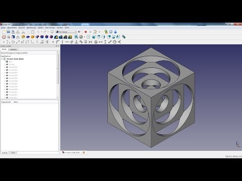 FreeCAD Tutorial 01 – Turners Cube