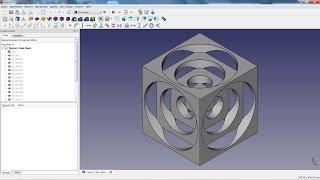 FreeCAD Tutorial 01 - Turners Cube