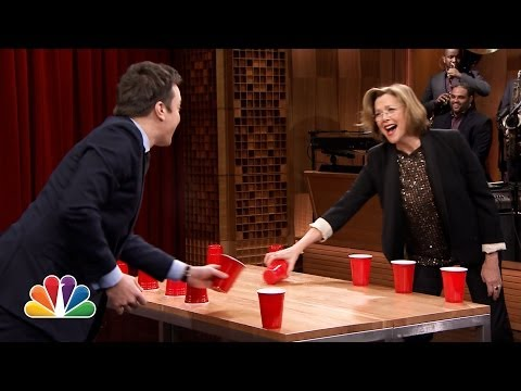 Flip Cup with Annette Bening