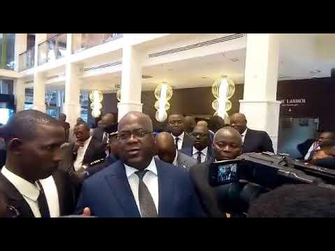 DEPUIS KIGALI FÉLIX TSHISEKEDI ANNONCE LA FIN  DE FIN DES PROBLEMES DE L'EST.