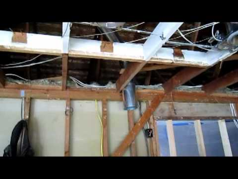 Gary and Debs Rough framing & electrical awaiting inspection.mpg ...