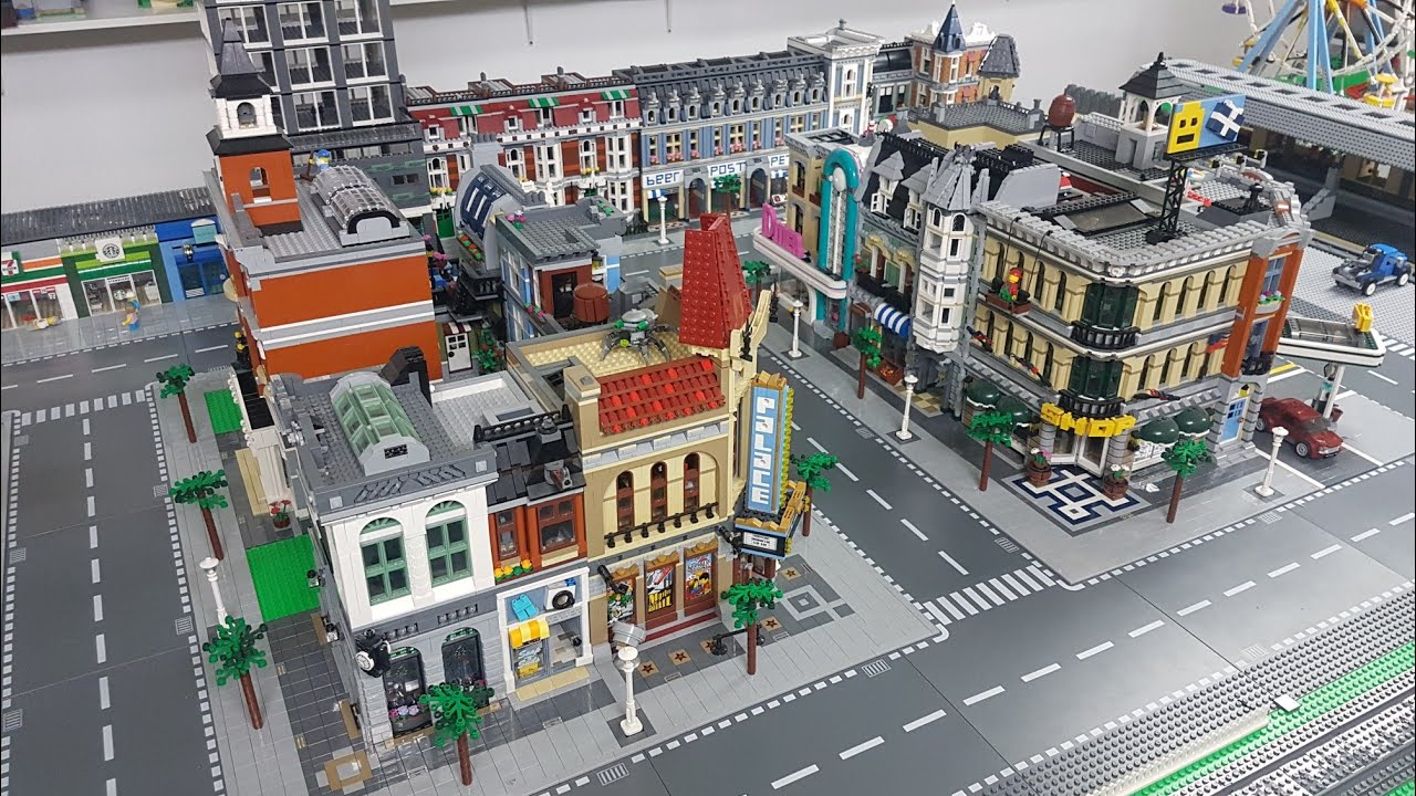 Lego City Update Changes Official Plan Youtube