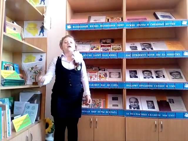 Изображение предпросмотра прочтения – АннаЖелязко читает произведение «Апрель» В.Я.Брюсова