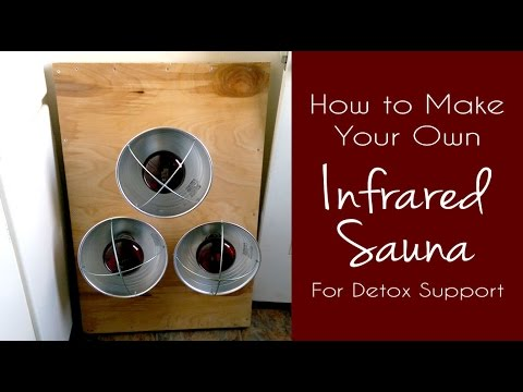 How to build a portable infrared sauna for detoxification for How to build your own sauna