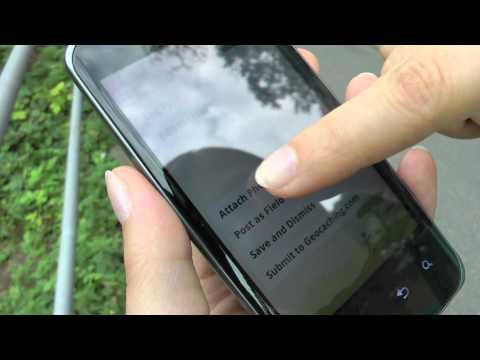 Geocaching mit dem LG P990 OPTIMUS Speed und E900 OPTIMUS 7