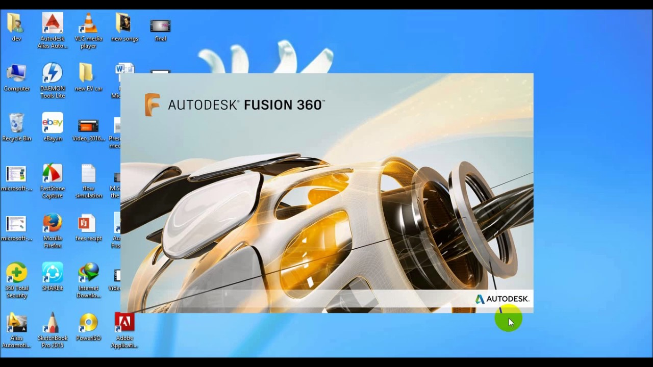 How to install student fusion 360 in windows 7 ,8,10