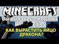 Minecraft: Выживание с модами часть 35 - Юнайт #35 - Как вырастить яйцо дракона ?