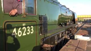 LMS 46233 The Cumbrian Mountain Express Bolton Sat 05/08/2017