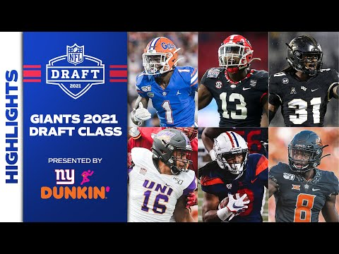 ULTIMATE Highlights of EVERY Giants 2021 Draft Pick 👀 | New York Giants