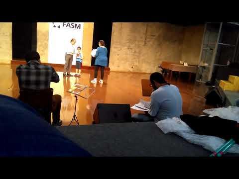 Ensaio para ópera de Macbeth - direção Carol Vaness