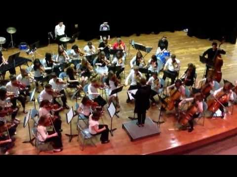 West Side Story for string orchestra performed by Ellis Middle School 7 th grade orchestr Austin, MN